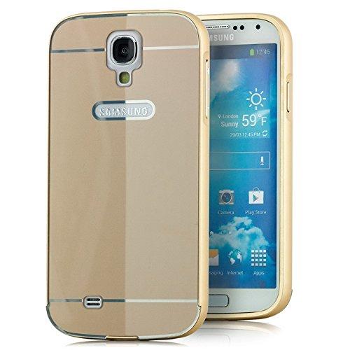 2 opinioni per Saxonia Samsung Galaxy S4 Custodia Metal Case Frame Bumper Respingente del