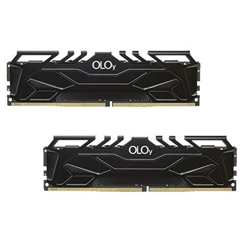 OLOy DDR4 RAM 64GB (2x32GB) 3600 MHz CL18 1.35V 288-Pin Desktop Gaming UDIMM (MD4U323618DJDA)