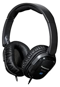 Panasonic RP-HC200-K auricular - Auriculares (Supraaural, Diadema, 1000 mW, Alámbrico, 1.5 m, Níquel) Negro
