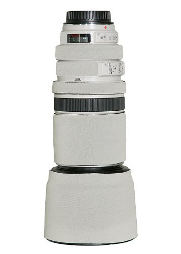 LensCoat Lens Cover for the Canon 100-400mm IS f/3.5-f/5.6 Zoom Lens - White (cw)