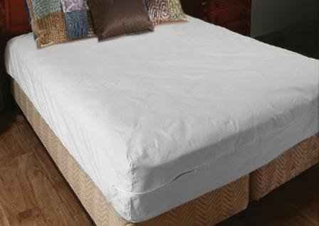 Deluxe Vinyl Zippered Mattress Cover Twin