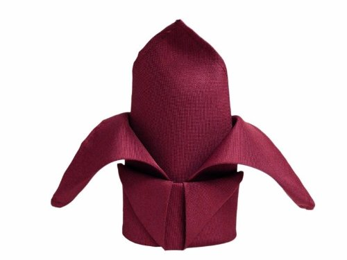 60 Pcs. PREMIUM WEDDING CATERING DINNER RESTAURANT CLOTH NAPKINS SOFT LARGE 20X20 - Burgundy Wine by Cloth Napkins