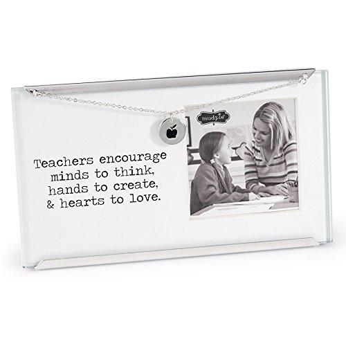 Mud Pie Glass Teacher Frame