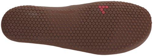 Vivobarefoot Herren RA II Casual Leder Schnür-Tennis-Schuhe Tabak