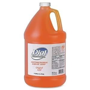 Wholesale CASE of 10 - Dial Corp. Antibacterial Liquid Soap Gallon Refill-Liquid Soap, Removes Dirt and Kills Germs, 1 Gallon
