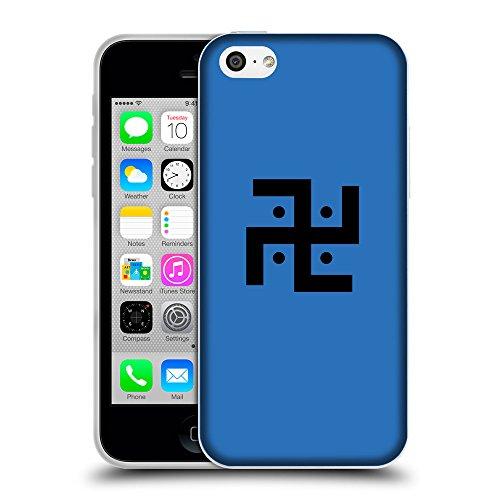 GoGoMobile Coque de Protection TPU Silicone Case pour // Q08370608 Religion 1 Azur // Apple iPhone 5C