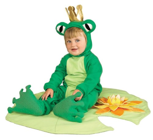[Rubie's Costume Co Lil' Frog Prince Costume Infant Costume] (Toddler Frog Prince Halloween Costume)