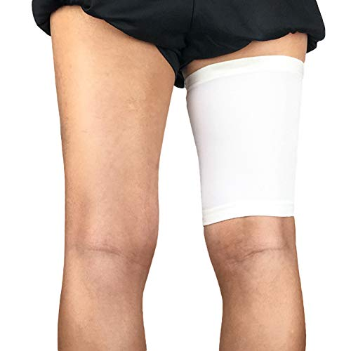 millet16zjh Sport Unisex Compression Leg Protector Thigh Brace Support Stretch Sleeve White L