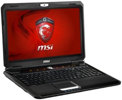 MSI Gaming GX60 1AC-036BE ordenador portatil - Ordenador portátil (Negro, Concha, Juego, Socket FS1r2, AMD AM70 FCH, AMD)