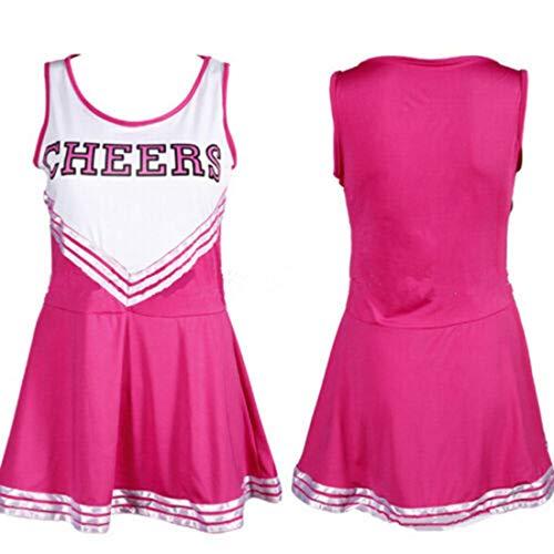 Women's Musical Uniform Fancy Dress Cheerleader Costume Outfit Hot -