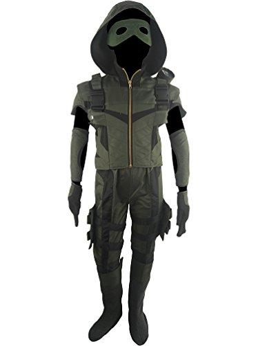 Save  sc 1 st  Desertcart & XYZcos Big Boysu0027 Green Arrow Season 4 Oliver Queen Costume Full Set ...