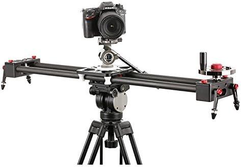 Black SevenOak SK-TXS80 Carbon Fiber Rail Professional Video Stabilizer