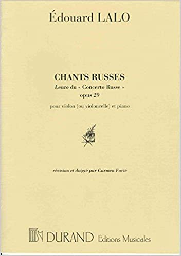 Livres Chants Russes Lento Du Concerto Russe Pour Violon epub, pdf