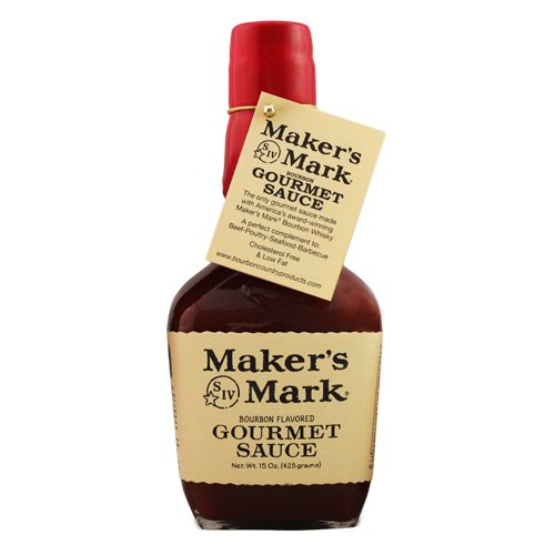 Maker's Mark Bourbon Flavored Gourmet Sauce - Case of Twelve by Maker's Mark