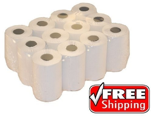 2 1/4'' x 50' Thermal Paper (12 roll pack) by PosPaperRoll