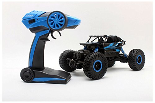 4WD RC Truck Off-Road Vehicle 2.4G Remote Control Buggy Crawler Car Blue from Unbranded