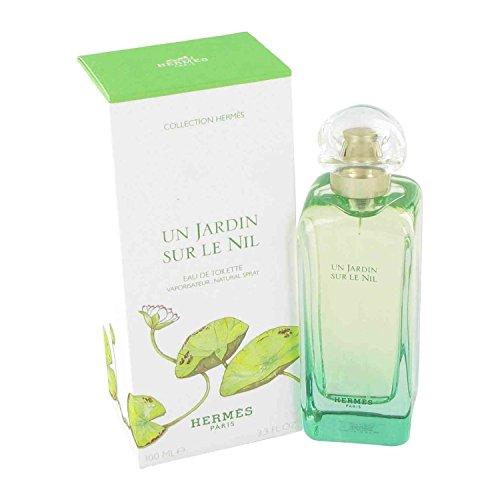 Un Jardin Sur Le Nil By Hermes For Women, Eau De Toilette Spray, 3.3-Ounce Bottle (Bottle De Eau Perfume Toilette)