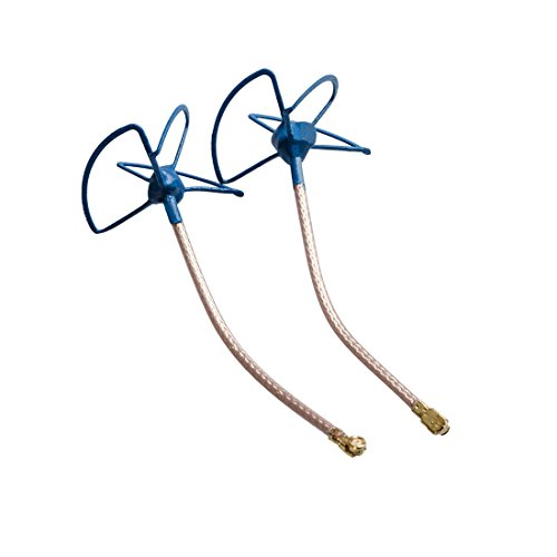 AKK IL04 5.8Ghz IPEX Circular FPV Antenna U.FL Connector(Blue)