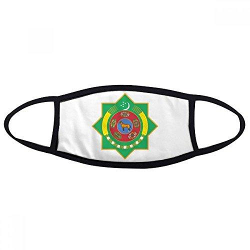 Turkmenistan Asia National Emblem Face Anti-dust Mask Anti Cold Maske Gift