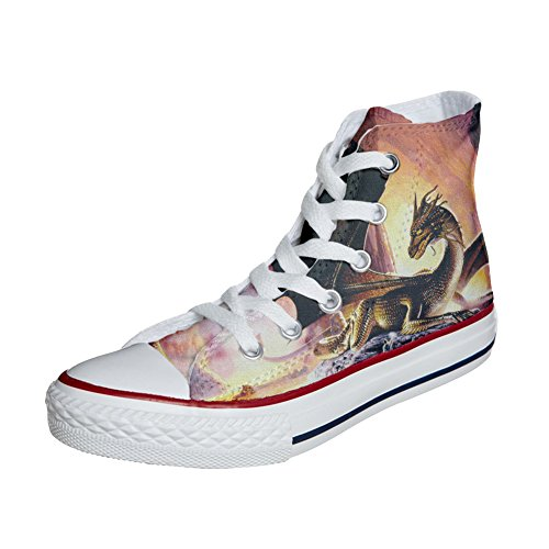 Converse Produkt Custom Schuhe dragoner personalisierte Handwerk rF6rvSx