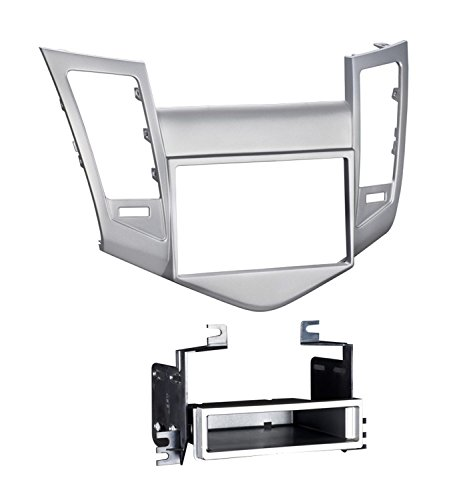 Metra 99-3011S Single/Double DIN Dash Installation Kit for 2011-Up Chevy Cruz Vehicles