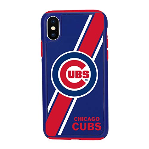 (iPhone Xs MAX Impact Series Dual Layered Protective Case for MLB Chicago Cubs )