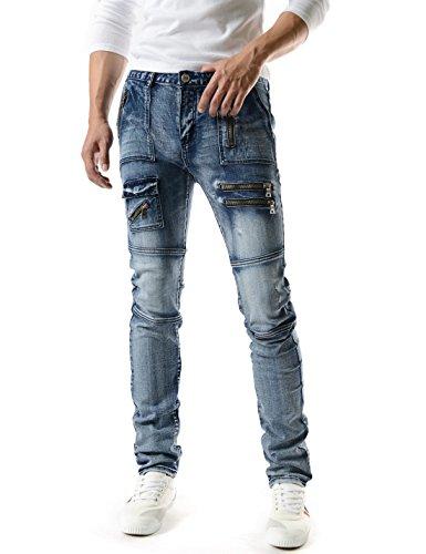 Cotton Zipper Straight Pockets - 7