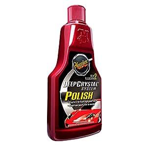 Meguiars Deep Crystal Polish - Cera para coche (473 ml)