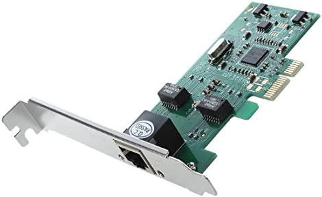 SODIAL(R) PCI Express 10/100/1000M Gigabit Ethernet Tarjeta controlador de ordenador escritorio de red LAN