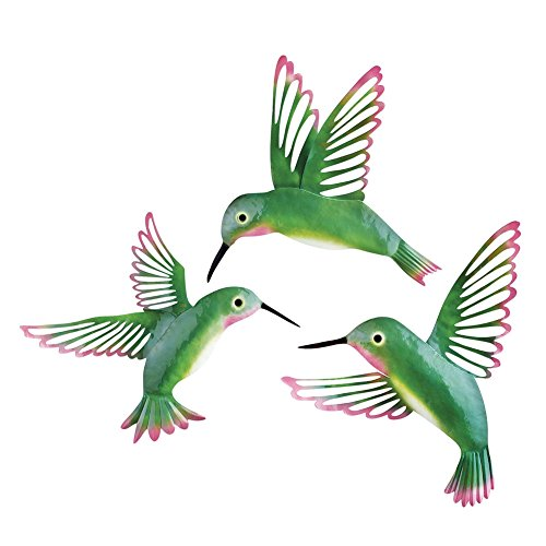 3D Hummingbird Wall D%C3%83cor Green