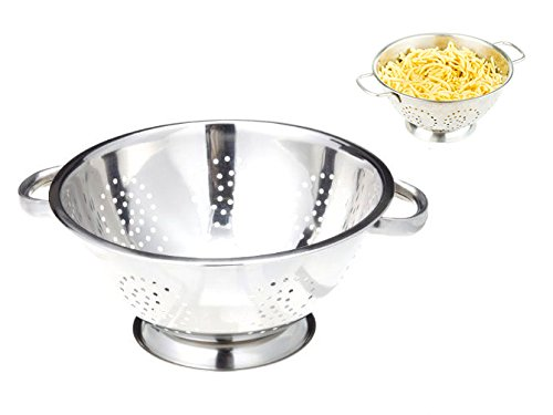 [Spaghetti Strainer Drivers License Stainless Steel Strainer Filter 5-Quart Kitchen Handles Colander Pasta Pot,, Ship From USA Fast] (Buzzfeed Easy Costumes)