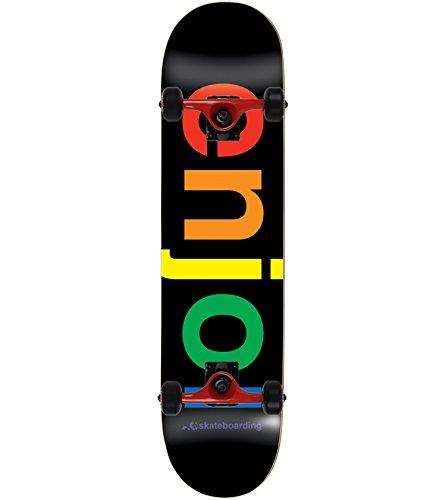 ENJOI Skateboard Complete SPECTRUM BLACK 8.25″ Tensor Assmebled