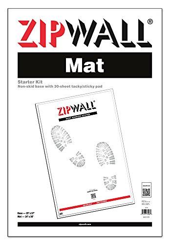 ZipWall Mat Starter Kit, 24