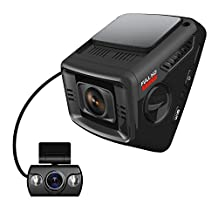 ITRUE X6D Dual Car Dash Cam Pro Stealth Design Full-HD 1080P 170°Wide Angle Superior Night Mode, G-Sensor & WDR , 1 Year DashCam Warranty (16GB MicroSD Card & Hard Wire Kit Included)