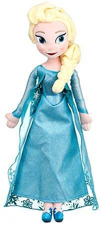 Disney Elsa Plush Doll, Frozen, Medium, 20