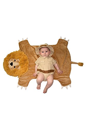 Princess Paradise Baby Swaddle Wings Safari Hunter, Tan/Brown, 0/3M - Safari Hunter Costume For Babies