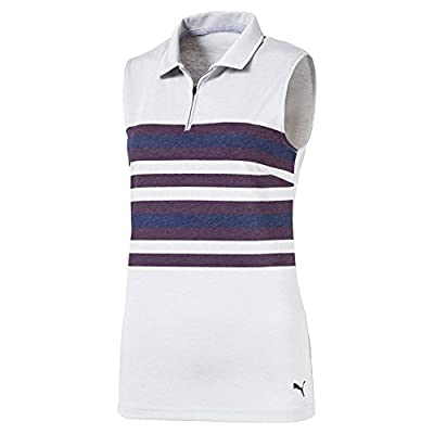 PUMA Golf Women's 2018 Road Map Sleeveless Polo