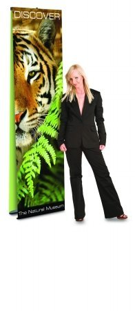 Ultra UB Banner Stands Size: 9'' H x 72'' W
