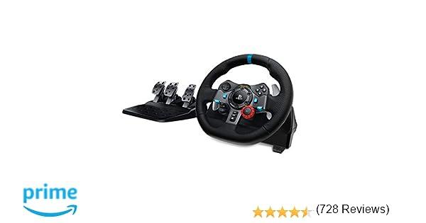 Logitech Driving Force G29 - Volante de carreras para PS4, PS3 y PC