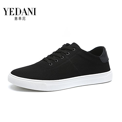 HGTYU Canvas Shoes Match Shoes English Shoes Summer Korean Men'S Male Leisure And Fashion Thirty All Shoes Black Men'S Shoes nine tAntaq7xrw