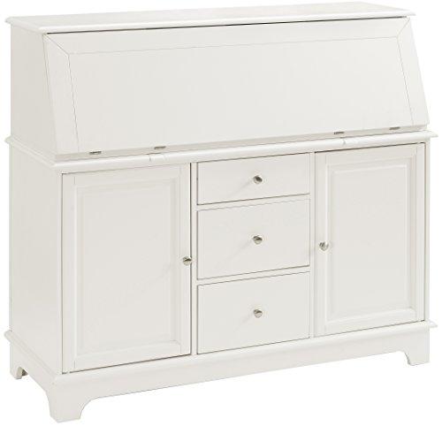 Secretary Desk Furniture - Crosley Furniture Sullivan Secretary Desk - White