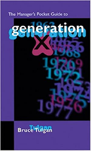 The Manager's Pocket Guide to Generation X (Manager's Pocket Guide Series)