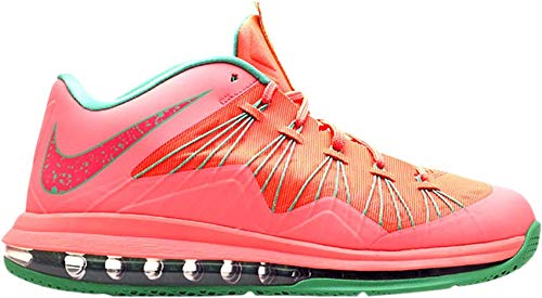 official photos b6659 0323a Nike Men s Air Max Lebron X Low Basketball Shoes (10, Watermelon   Bright  Mango Bright Mango-Gamma Green-LS   579765 801)