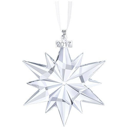 2017 Swarovski Annual Edition Christmas Ornament (Authorized dealer guaranteed authentic) New in Triangle (Annual Ornament)