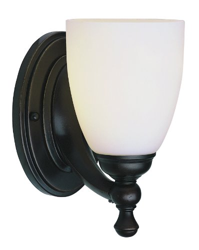 Trans Globe Lighting 3651 ROB Indoor Eleanor 5'' Wall Sconce, Rubbed Oil Bronze by Trans Globe Lighting