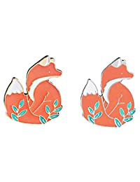 Enamel Pin Sets Cute Pins Funny Animal Lapel Pin Brooch Pin for Backpack