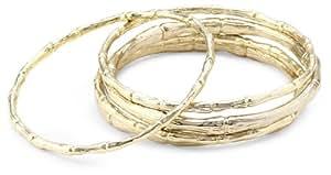 "Kendra Scott ""Classic Metals"" Drew Gold Bangle Bracelet"