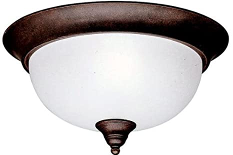 Amazon.com: Kichler 8064 Phoebe 2 luz Flush Mount interior ...