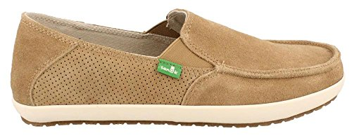 Slip-on Marrone Sanuk Mens Casa Suede