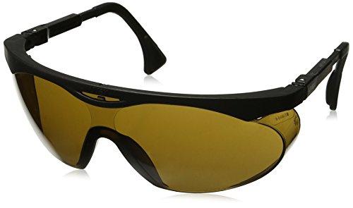 Uvex S1901 Skyper Safety Eyewear, Black Frame, Espresso Ultra-Dura Hardcoat Lens